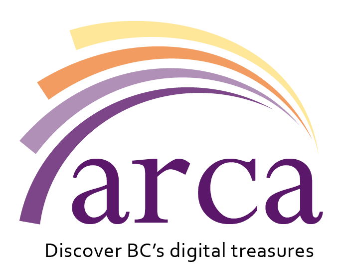 Arca logo: Discover BC's Digital Treasures