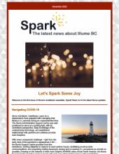 Image of the Illume Spark Newsletter