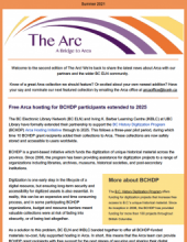 The Arc Newsletter
